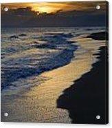 Sunrays Over The Sea Acrylic Print