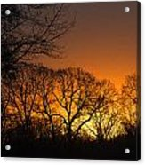 Sunrise - Another Perspective Acrylic Print