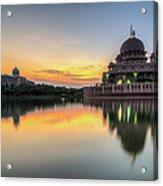 Sunrise | Masjid Putra, Putrajaya | Hdr Acrylic Print