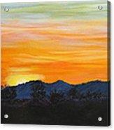Sunrise - A New Day Acrylic Print