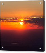 Sunrise Above 14000 Feet Acrylic Print