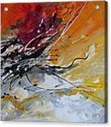 Sunrise - Abstract Art Acrylic Print