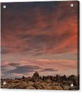 Sunrise Alabama Hills Near Lone Pine Ca Mg 0619 Acrylic Print
