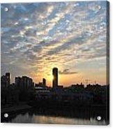 Sunrise Arise Buffalo Ny V1 Acrylic Print