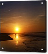 Sunrise At Atlantic City Acrylic Print