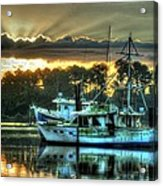Sunrise At Billy's Acrylic Print by Michael Thomas