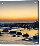 Sunrise At Burleigh Acrylic Print