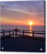 Sunrise At Cape Spear St Johns Newfoundland Acrylic Print