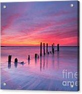 Sunrise At Deal Nj Acrylic Print