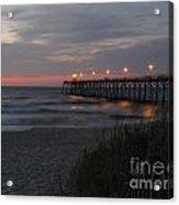 Sunrise At Kure Pier Acrylic Print
