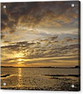 Sunrise At Low Tide - Sleepy Cove Acrylic Print