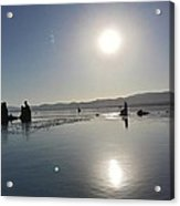 Sunrise At Mono Lake 001 Acrylic Print