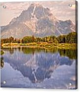 Sunrise At Oxbow Bend 2 Acrylic Print by Marty Koch