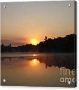 Sunrise At Peggy's Point Acrylic Print