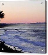 Sunrise At Pismo Beach Acrylic Print
