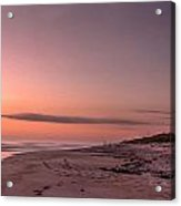 Sunrise At Playalinda Beach Acrylic Print