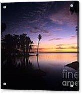 Sunrise At San Jose Del Cabo Acrylic Print