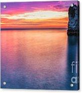 Summer Sunrise Selwick Bay Flamborough Acrylic Print