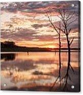 Sunrise At Stockdale Acrylic Print