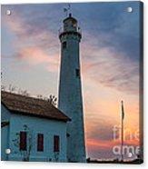 Sunrise At Sturgeon Point Acrylic Print
