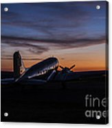 Sunrise At The Airport Acrylic Print