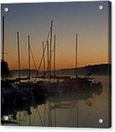 Sunrise At The Marina - Lake Nockamixon State Park Acrylic Print