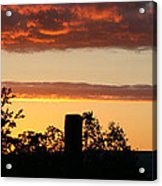 Sunrise At Thornhill Acrylic Print