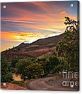 Sunrise At Woodhead Park Acrylic Print by Robert Bales