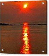 Sunrise Atlantic City Acrylic Print