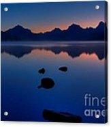 Sunrise Blues Acrylic Print