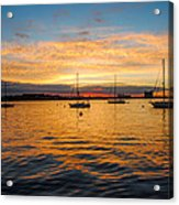 Sunrise Boston  Acrylic Print