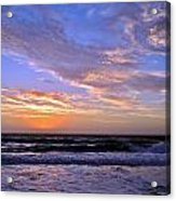 Sunrise Cloudshadows Acrylic Print
