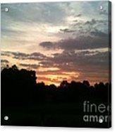 Sunrise Coming Acrylic Print