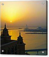 Sunrise Dubai Acrylic Print