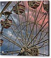 Sunrise Ferris Wheel Acrylic Print