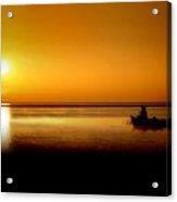 Sunrise Fishing Acrylic Print