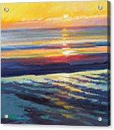 Sunrise Flats Acrylic Print by Ed Chesnovitch