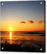 Sunrise From Sachuest Acrylic Print