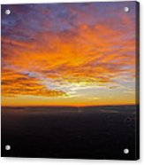 Sunrise From The Airplane Acrylic Print