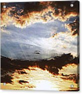 Sunrise Heaven Acrylic Print