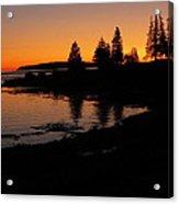 Sunrise In Bar Harbor Maine Acrylic Print