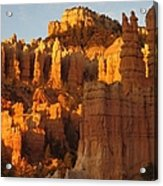 Sunrise In Bryce's Fairyland Acrylic Print