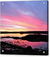Sunrise In Maine Acrylic Print