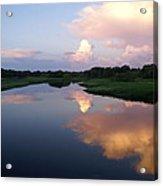Sunrise In Sarasota Acrylic Print