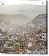 Sunrise In Taxco, Guerrero, Mexico Acrylic Print