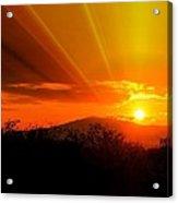 Sunrise From Heaven  Acrylic Print