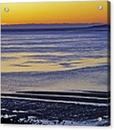 Sunrise Ipswich Bay Acrylic Print