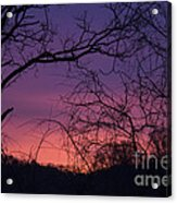 Sunrise January 21 2012 Acrylic Print