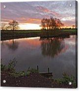Sunrise Lenton Fishing Pond Acrylic Print