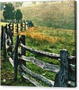 Sunrise Meadow - Blue Ridge Parkway II Acrylic Print